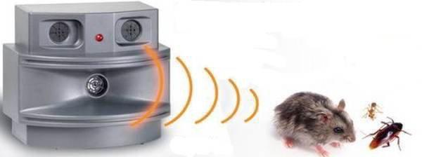 """Ультразвуковой отпугиватель грызунов  """"Pestchaser-3 Plus """" эффективен против грызунов и насекомых."""